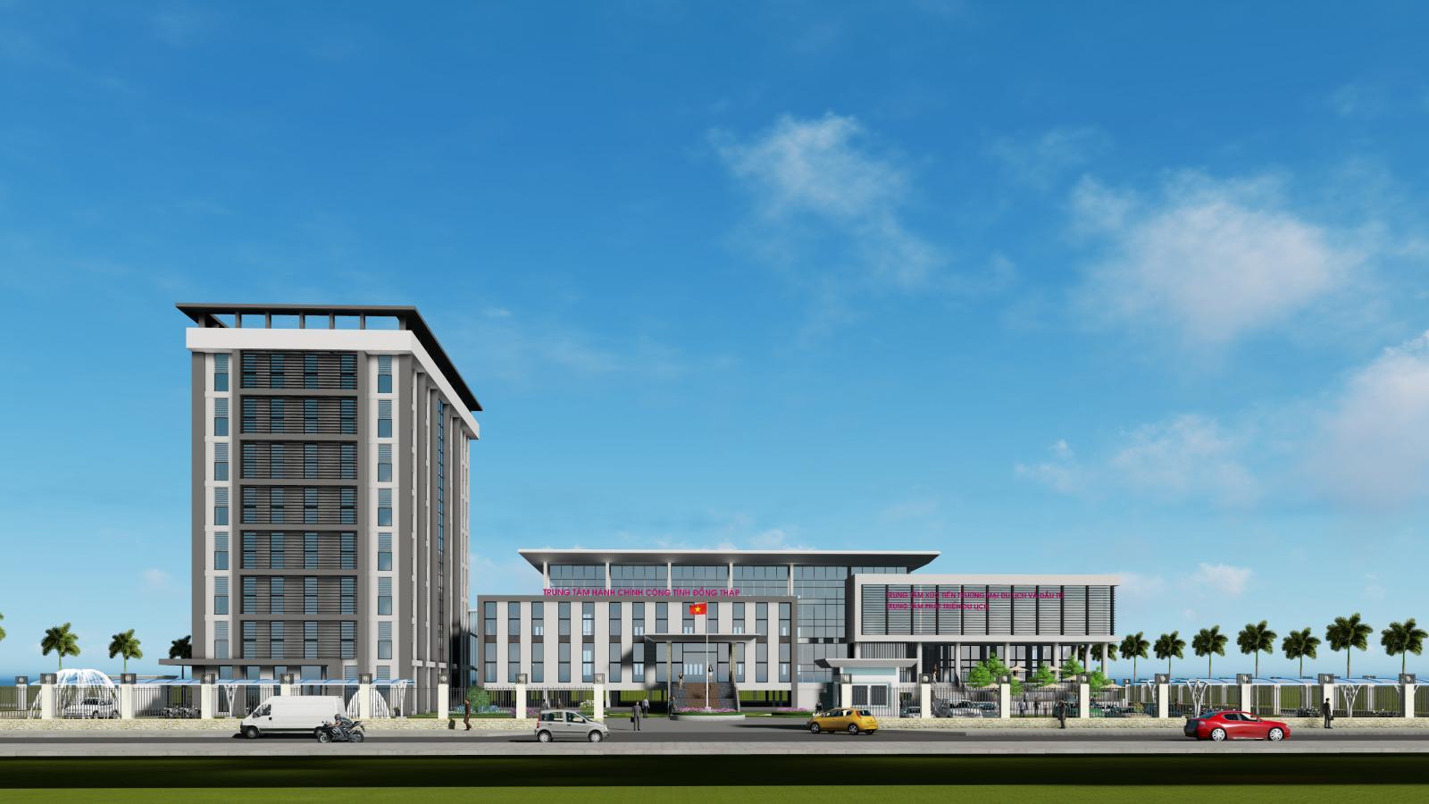 Thông báo kết quả thẩm định dự án đầu tư xây dựng Trung tâm hành chính công và khối trụ sở các đơn vị sự nghiệp tỉnh Đồng Tháp  (số 190/SXD-QLXD ngày 25/10/2018)