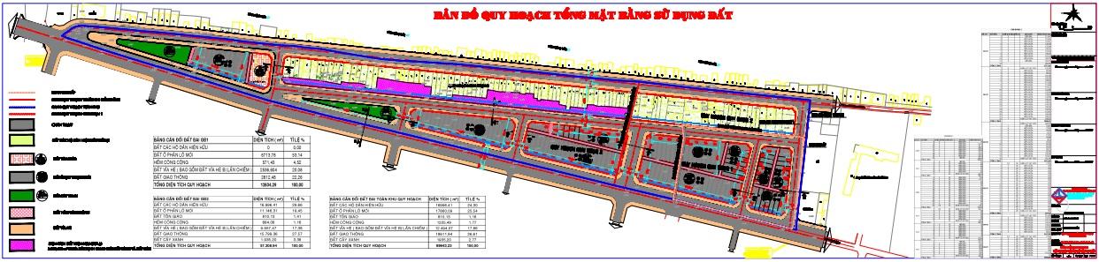 Quy hoạch chi tiết xây dựng Chỉnh trang Khu dân cư Khóm 1, thị trấn Tràm Chim (điều chỉnh)