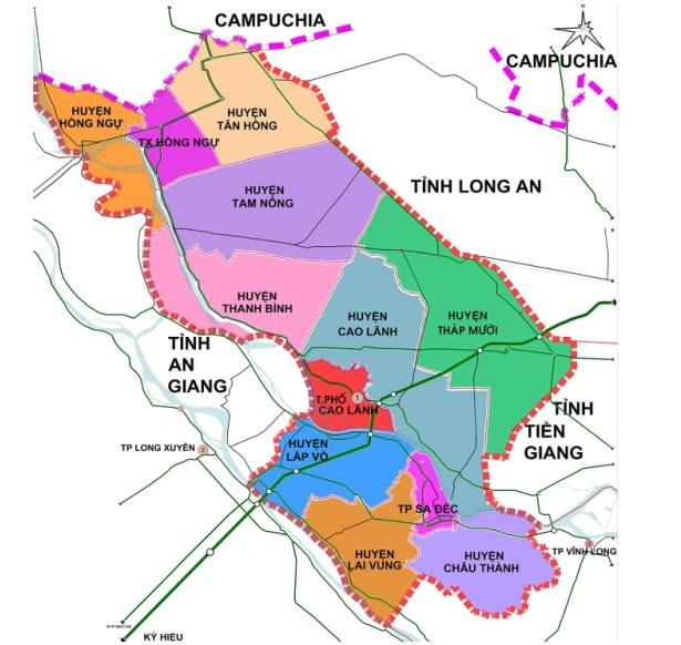 Quyết định số 1054/QĐ-UBND.HC phê duyệt chương trình phát triển đô thị tỉnh Đồng Tháp đến năm 2020 và định hướng đến năm 2030