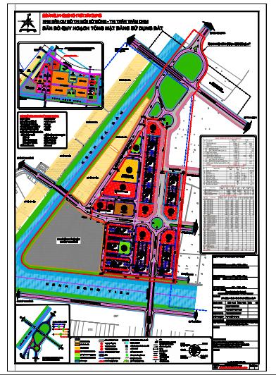 Quy hoạch chi tiết xây dựng Khu dân cư đô thị mới Bờ Đông thị trấn Tràm Chim