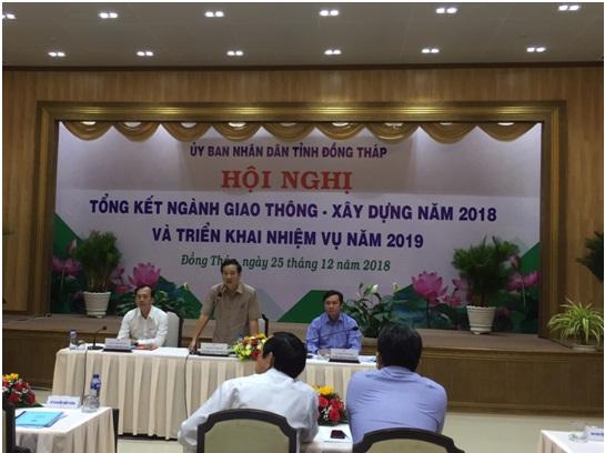 Hội nghị tổng kết ngành giao thông - xây dựng năm 2018  và triển khai nhiệm vụ năm 2019