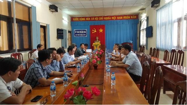 Huyện Tháp Mười học hỏi kinh nghiệm xây dựng nông thôn mới tại huyện Tiểu Cần – tỉnh Trà Vinh